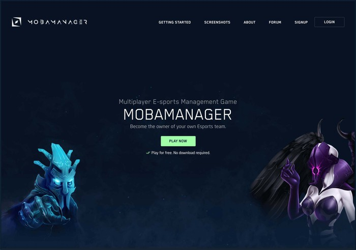 Mobamanager online game